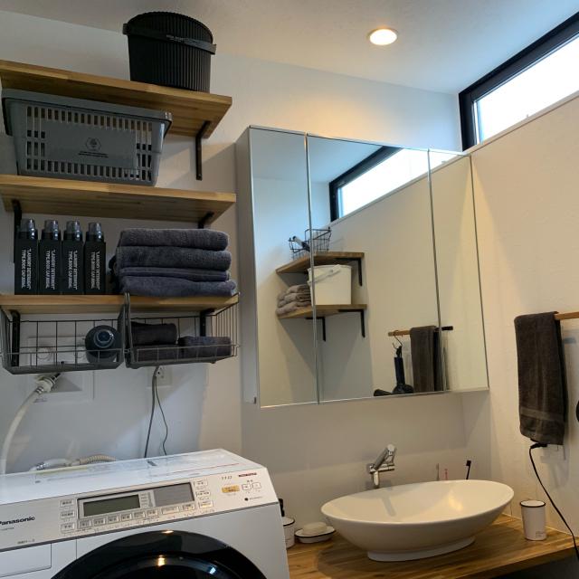 サニタリーをランクアップ見せ♪洗面所のワザあり整理収納
