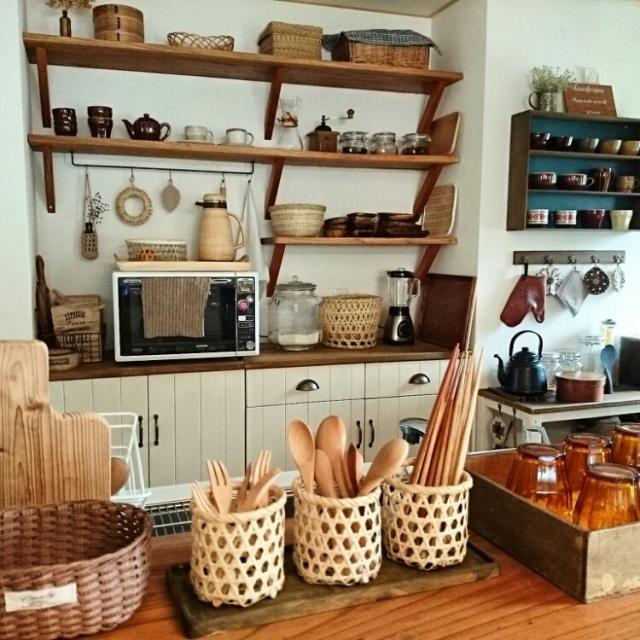 使いやすさ抜群!キッチンのカトラリー収納アイデア10選