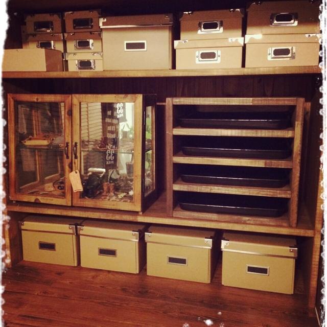 作業机の整理整頓