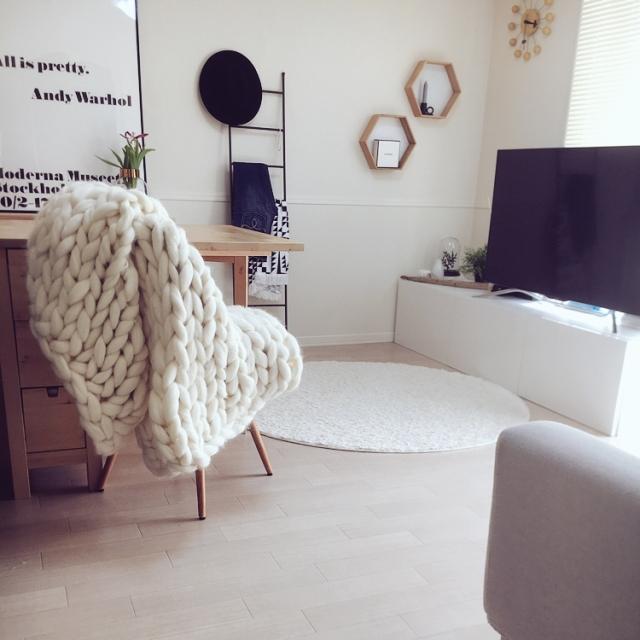 Soft&Stylish☆北欧風のモノトーンインテリアの作り方