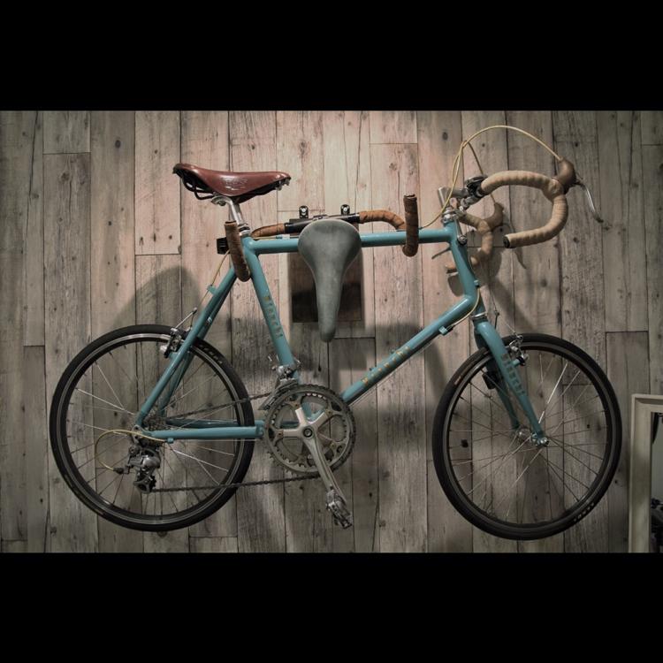 お気に入りの自転車と暮らす、サイクリストの住処