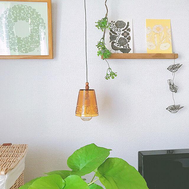 「穴を開けて通すだけ♪すぐ作れる、簡単カフェ風フェイクランプ」 by sakuraさん