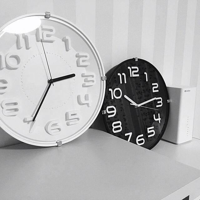 合わせやすくてコスパ最高!ニトリの掛け時計をご紹介