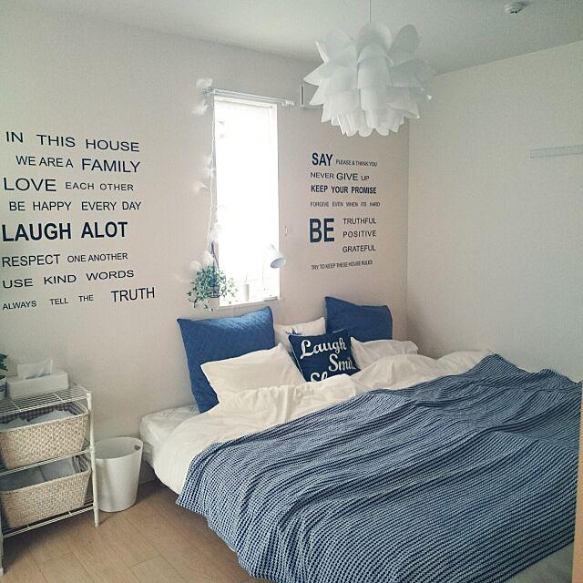 シンプルな空間やナチュラルな空間に似合う!IKEAの照明