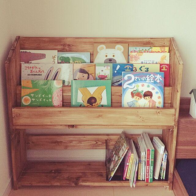 私の欲しいがここにある♡ブックシェルフのDIY実例集