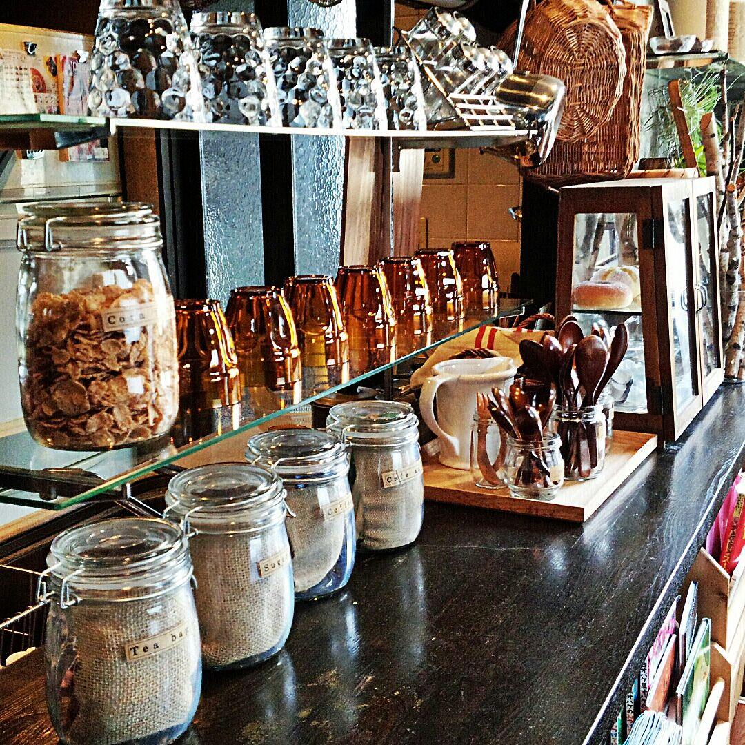 カフェスタイルをもっと楽しみたい!セリアのガラスジャー