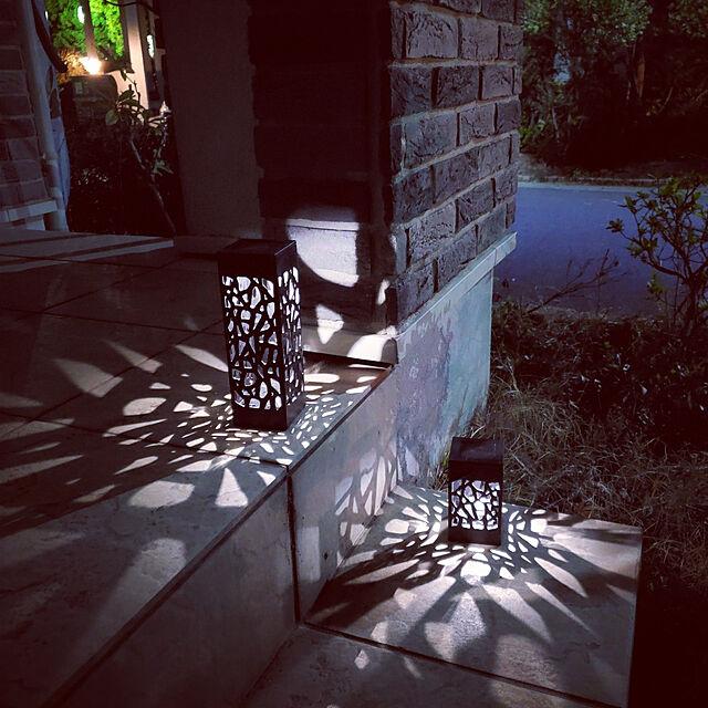 お部屋もお庭も心地よく照らす☆バラエティ豊かなダイソーのライト