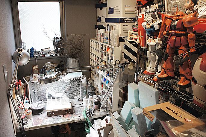 【今注目のジオラマモデラー】情景師/アラーキーさんのジオラマがあるお部屋インタビュー!②