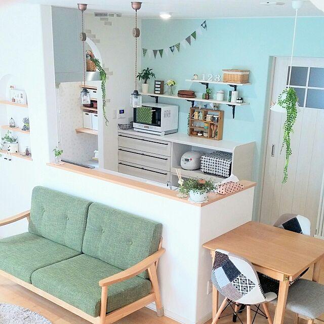 「毎日楽しい♪家事効率も良いスッキリ&可愛い空間」憧れのキッチン vol.122 sakuさん