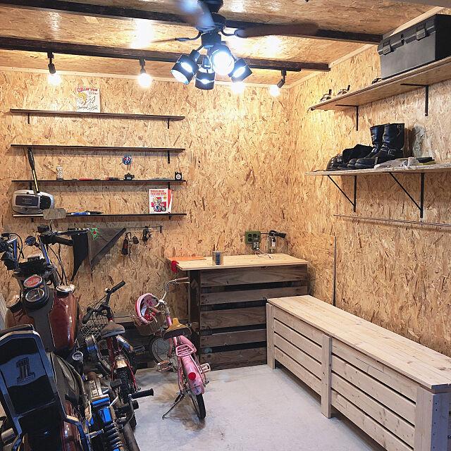 DIYバイクガレージ11選!