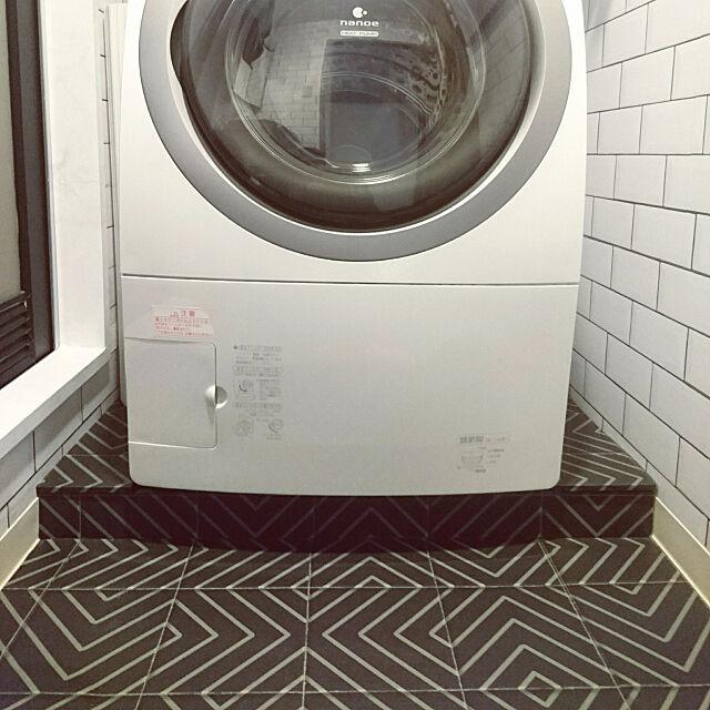 埃を防いで掃除が楽♪洗濯機パンカバーの作り方&アレンジ