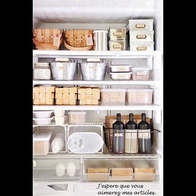 冷蔵庫の大掃除は、セットでやりたい!掃除+整理収納
