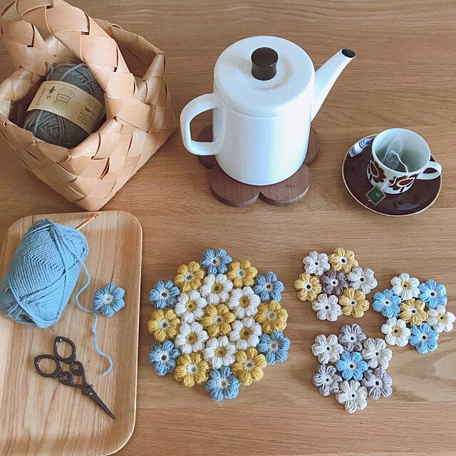 初めてでも作ってみたい☆かぎ針編みのハンドメイド