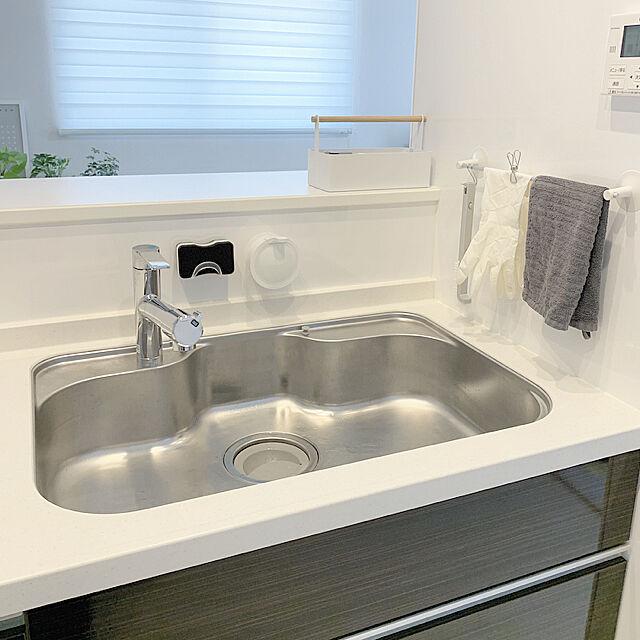 使いやすい場所はどこ?キッチンの手拭きタオル置き方実例