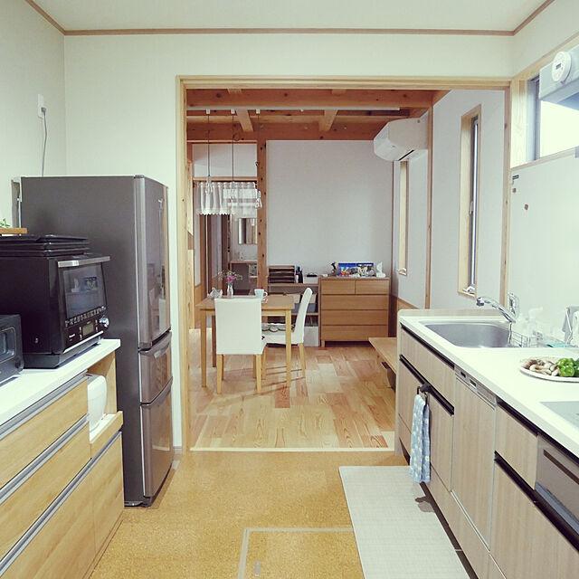 「DIYで柔軟に自分たちらしく整えていく、心安らぐシンプルな平屋暮らし」 by monchan0921さん