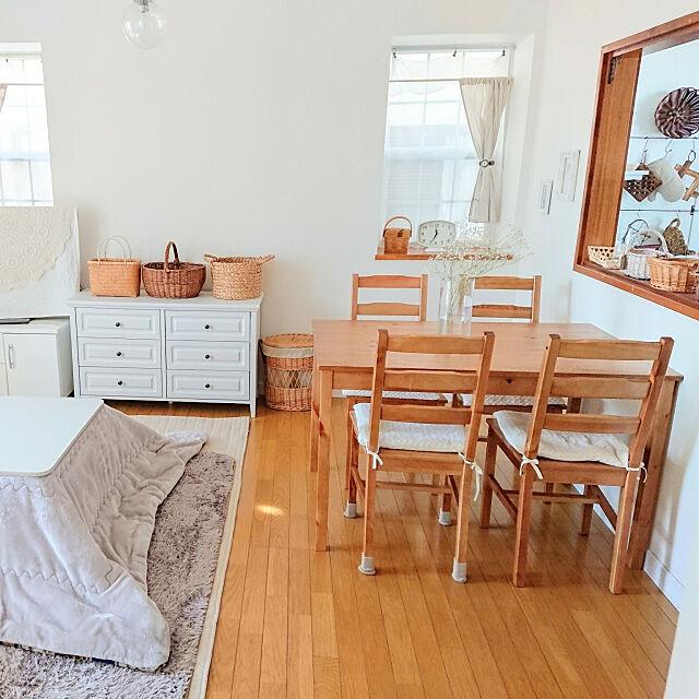 狭めのお部屋も快適に☆6畳~8畳のお部屋の上手な使い方