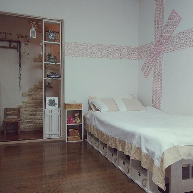 DIYでとことん好みの雰囲気に☆ひとり暮らしのベッド周り10選