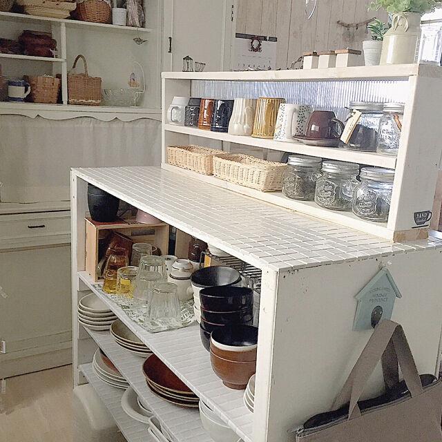 自分仕様だから使いやすさ抜群!DIYのキッチンカウンター