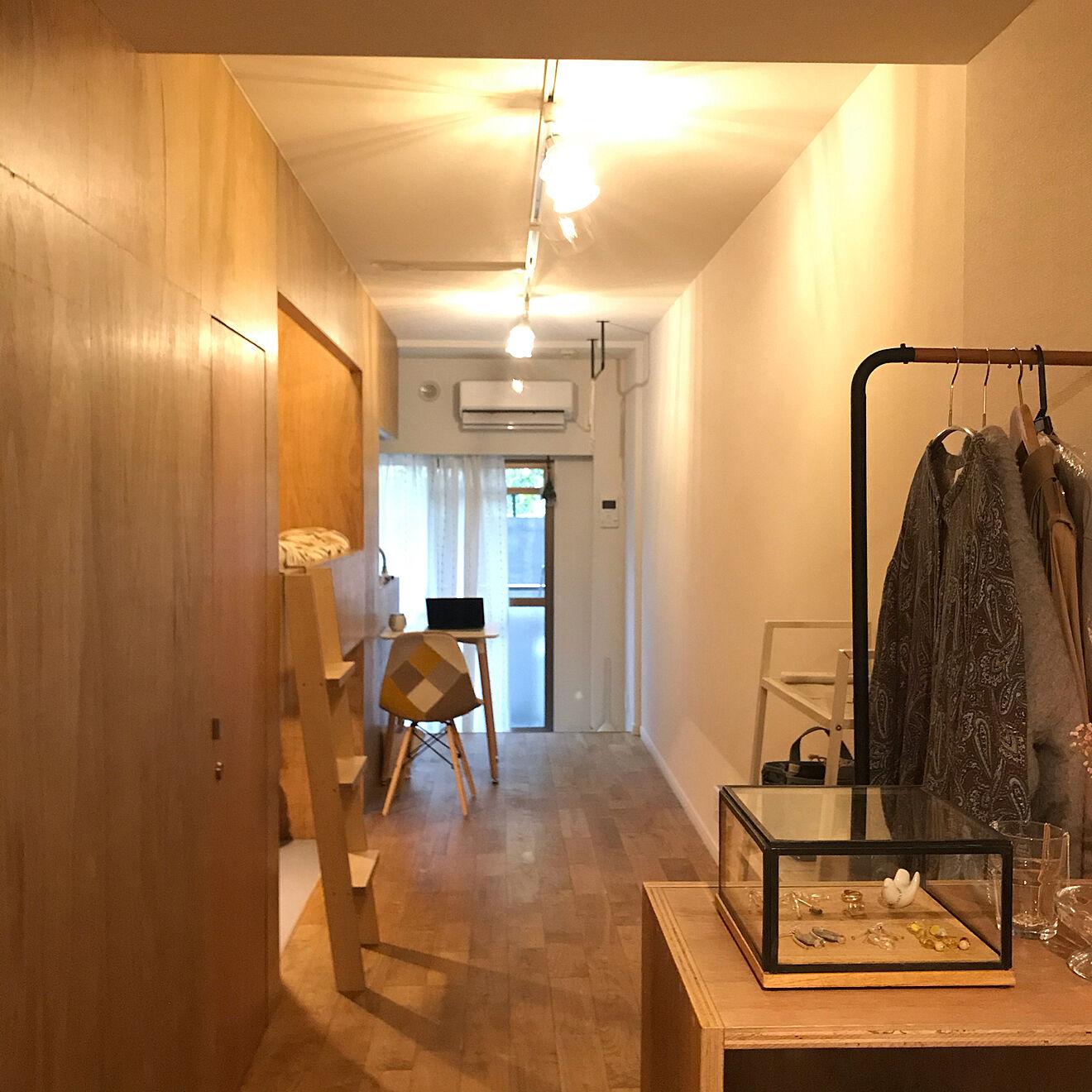 「25m2。お部屋の個性×こだわりで生む、雰囲気も使い勝手もいい上質空間」 by mimiさん