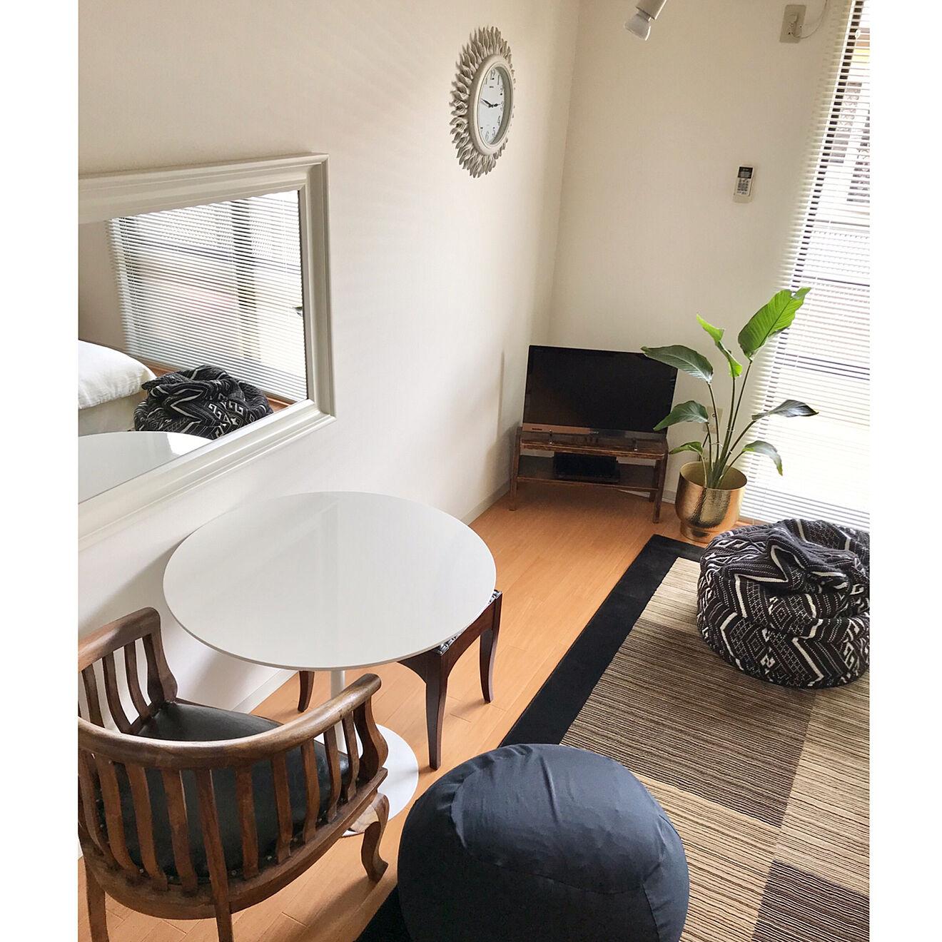 「30m2。厳選したものと、シンプルに機能的に私らしく暮らす部屋づくり」 by mmさん