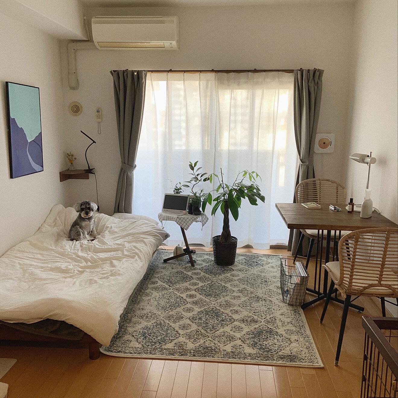 「25m2。シンプルさの中で組み合わせの自由を楽しむ、味のあるお部屋づくり」 by muuさん