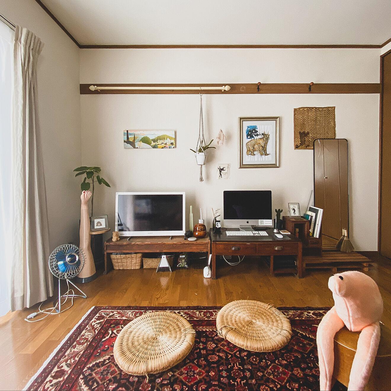 「28m2。奇妙さやギャップの魅力を楽しむ、気ままなミックススタイル」 by hada.iroさん