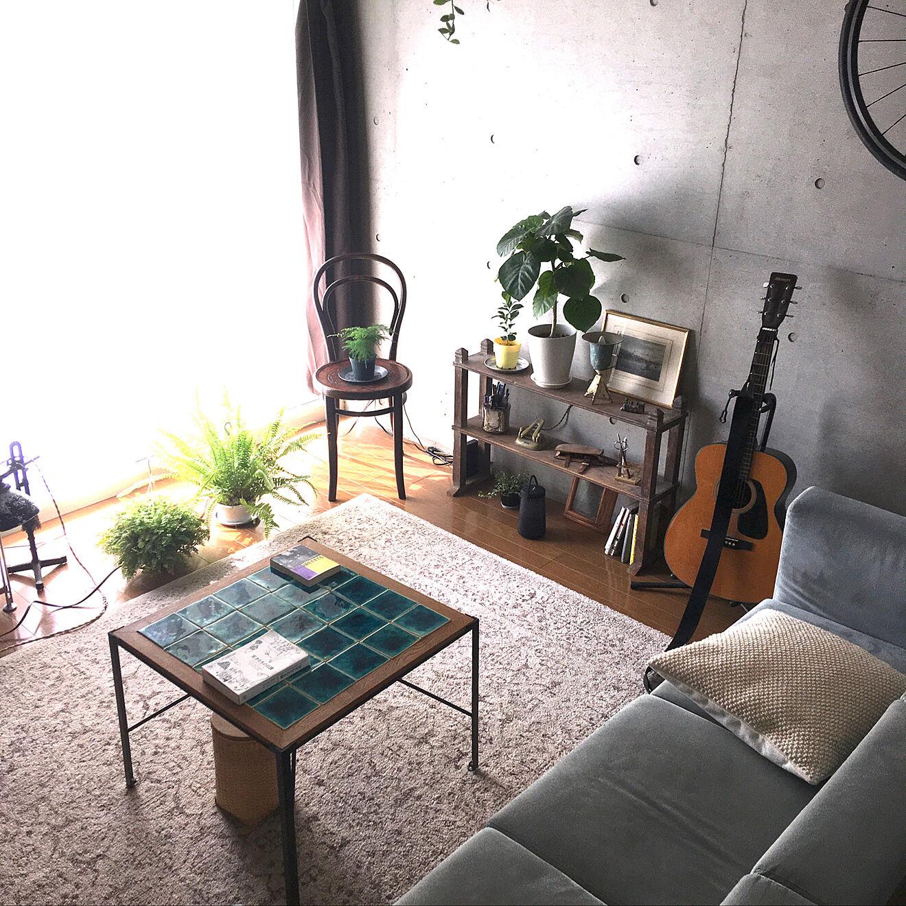 「30m2。開放感たっぷりに趣と植物、音を味わうくつろぎのワンルーム」 by uhyoさん