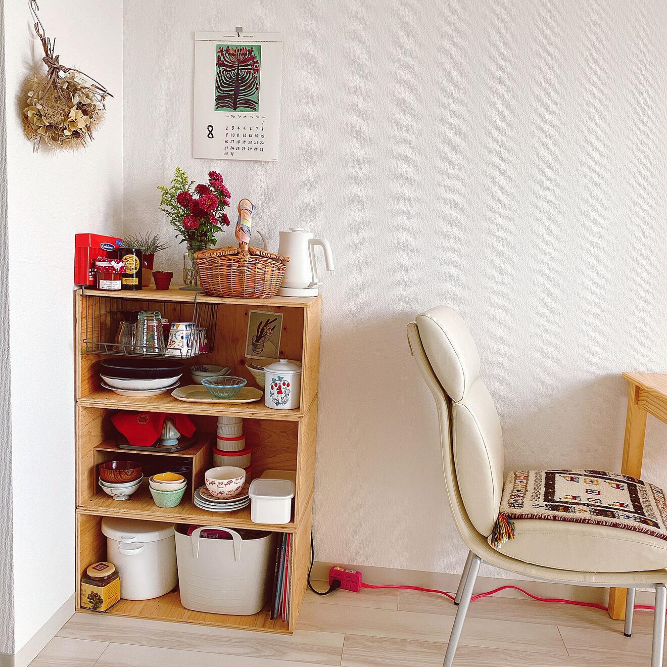 「21m2。無駄なく柔軟、シンプルと彩を両立するバランスの良いお部屋づくり」 by maaさん