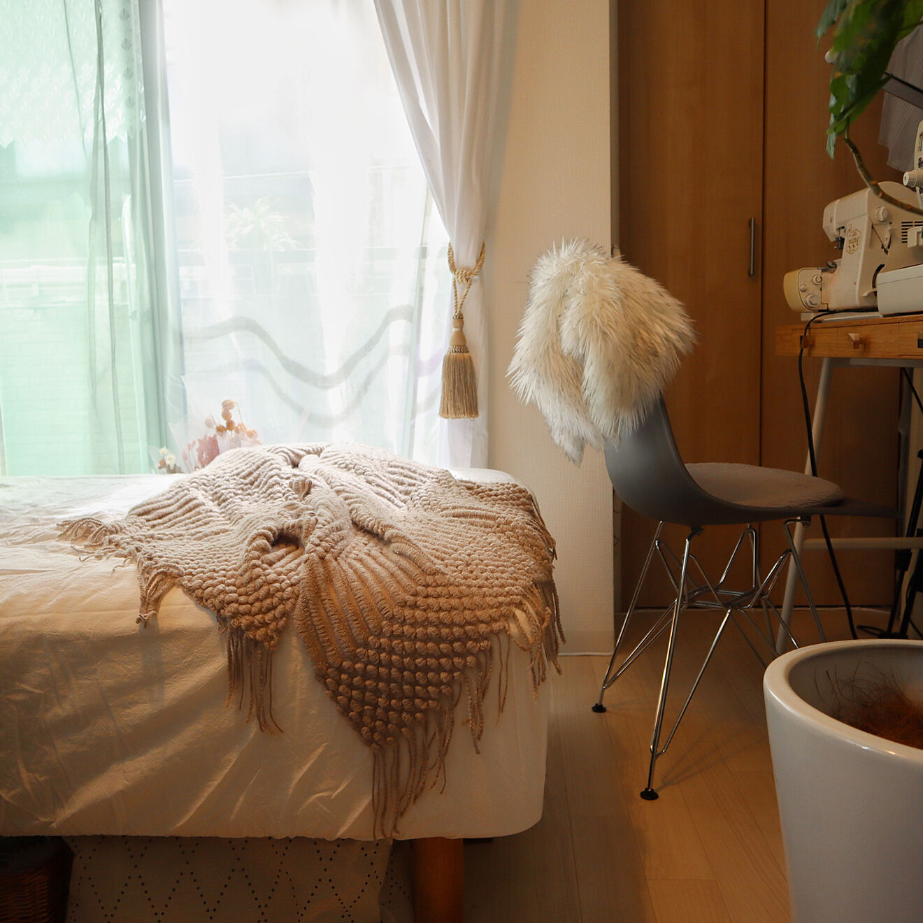 「13m2。海外風に洗練された、癒し系エレガントに好きを楽しむ部屋づくり」 by linenさん