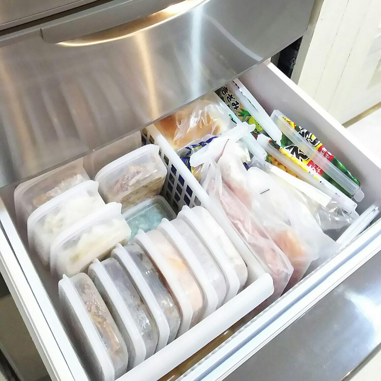 すぐにできる冷凍庫の収納テク!製氷皿や100均グッズでスペース確保