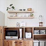キッチン棚の写真