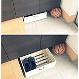【玄関】靴箱収納の写真