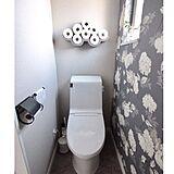 トイレ壁紙の写真