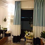 カーテンの写真