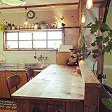 キッチンカウンターの写真