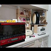 調理が劇的にスムーズになる!キッチン家電置き場の工夫