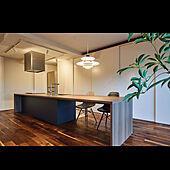 キッチン/ウォールナット/リノベーション/背面収納/神戸スタイル...などのインテリア実例 - 2020-02-27 23:30:29