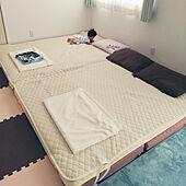 ベッド周り/積水ハウス/戸建て/こどもと暮らす。/赤ちゃんのいる暮らし...などのインテリア実例 - 2021-09-20 07:18:49