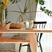 暮らしを楽しむ/ダイニングテーブル/テーブルコーディネート/緑のある暮らし/植物と暮らす...などのインテリア実例 - 2021-06-19 20:12:58