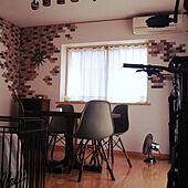 部屋全体/お気に入りのカラー/壁掛け時計/子供3人/片付けやすい...などのインテリア実例 - 2021-06-28 10:26:58