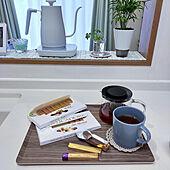 キッチン/2021/01/20/見てくれてありがとうございます♡/おやつ時間/IKEA...などのインテリア実例 - 2021-01-20 16:10:28