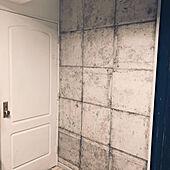 壁紙屋本舗/コンクリート壁紙/コンクリート柄/ハッタン/DIY...などのインテリア実例 - 2021-09-19 16:46:23