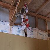 マイホーム建築中/マイホーム記録/上棟式も無事終わりました/壁/天井のインテリア実例 - 2021-06-24 07:46:08