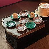 中国茶/蒸籠のある暮らし/点心/茶室/机のインテリア実例 - 2021-09-17 11:43:05