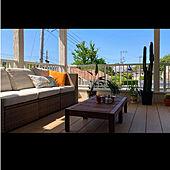 IKEA/Outdoor Living/カリフォルニアスタイル/アメリカンハウス/IKEAのソファ...などのインテリア実例 - 2021-05-09 21:30:38