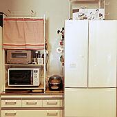 冷蔵庫/食器棚/キッチン/新米夫婦/大東建託 賃貸...などのインテリア実例 - 2021-07-26 11:33:53