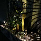 ソーラーLEDライト/照明/玄関/入り口のインテリア実例 - 2021-09-24 23:33:50