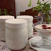 ダイエット中なのに/ヨーグルト大好き/私はブルガリア人ではありません。/手作りヨーグルト/キッチン...などのインテリア実例 - 2020-09-11 21:52:04