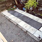 セルフリフォーム/多肉/ジャンクガーデン/箱庭/ガーデンライト...などのインテリア実例 - 2021-04-17 18:22:32