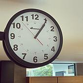 壁掛け時計/両面時計/キッチンのインテリア実例 - 2021-07-30 13:18:52